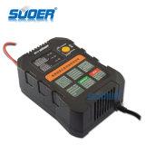 Suoer Intelligent Smart Carregador Rápido 6V 12V carregador da bateria automático com o modo de carregamento de três fases (UM01-0612UM)