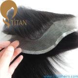 """Neuer Typ 13 gerades brasilianisches Stück-Spitze-Stirnbein-Schliessen des Haar-"""" X4 """""""