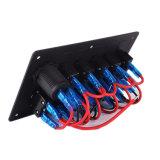 차 바다 DC 배급 알루미늄 LED 로커 스위치 위원회