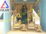 Передвижная Containerized машина Bagging для удобрения зерна на порте