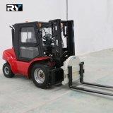 3.5 Tonnen-raues Gelände-Dieselgabelstapler 4WD