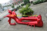 Décoration de plein air gonflables géants Robot de dessins animés pour la publicité
