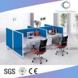 現代家具のコンピュータ表MDFのオフィスワークステーション