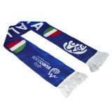 Striped связанные перчатка и шарф (JRI002)
