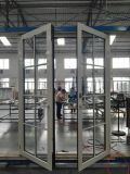 Scharnierend aluminium/Franse Deur met Traliewerk