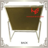 Стул офиса стула гостиницы стула трактира стула стула банкета стула стула штанги (RS161901) самомоднейший обедая мебель нержавеющей стали стула дома стула венчания стула