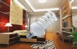 as lâmpadas energy-saving cheias da espiral 3000h/6000h/8000h 2700k-7500k E27/B22 220-240V de 15W 18W 23W fixam o preço para baixo