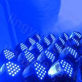 Equipamento de DJ RGBW 54X3w fase par efeito de LED acende