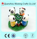 Het Beeldje van de Herinnering van de Hars van Mahjong van de Panda van de Decoratie van het huis