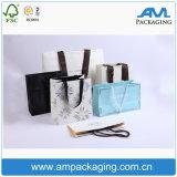 Handmade Paper Packaging Shopping Bag com alças