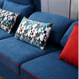 ホテルのベッド部屋の家具Fb1149のためのフランネルの高品質ファブリックが付いている現代デザイン部門別のソファー