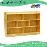 Armario de almacenamiento de madera natural de kindergarten (HG-4303)