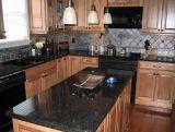 Absolute Zwarte Opgepoetste Countertop van het Graniet van de Oppervlakte van de Keuken