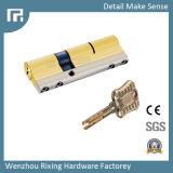 Obbligazione d'ottone Rx-09 della scanalatura aperta della pala del doppio di Cylinde della serratura di portello