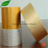 Lámina de Navidad papel de envolver el color chocolate impreso en papel de aluminio
