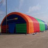 مشمّع وقاية خيمة قابل للنفخ لأنّ معرض
