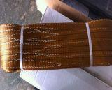 Imbracatura piana duplex della tessitura del poliestere