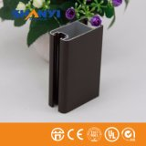 Profil en aluminium en bronze en aluminium d'extrusion d'enduit de pulvérisation de poudre de profil d'extrusion