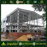 Vertientes de acero del taller de la fabricación del edificio del metal de la viga barata de H