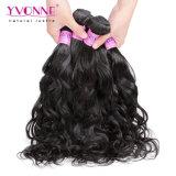 Estensione brasiliana dei capelli dell'onda naturale di estensione dei capelli umani di Yvonne 100%