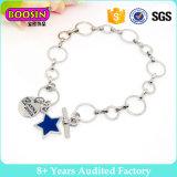 Armband #B138 van het Manchet van de fabriek de In het groot Zilveren Elegante