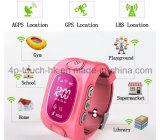 SIM 카드 슬롯을%s 가진 소형 아이 GPS 추적자 시계를 추적하는 GPS