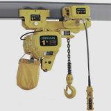 20t het elektrische Hijstoestel van de Ketting Vast met Haak