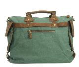 キャンバス革アメリカ旅行様式のスポーツの余暇のDuffle袋(RS-1801)