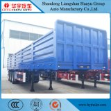 40FT 3 Axle Cargo liner/Flatbed/Side Wall/Utility Container Semi Truck Trailer card for Sino Truk