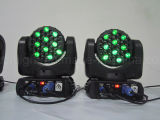 lumières principales mobiles de faisceau de 36PCS 3W RGBW pour l'étape