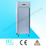 Cocina comercial Freezer-Gn600bt del acero inoxidable