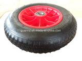 Rotella di gomma pneumatica della carriola da 16 pollici con buon cuscinetto