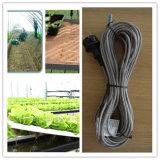 Câble chauffant imperméable à l'eau de PVC pour la chaleur Pawo d'usine/sol
