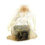 선물 Organza 졸라매는 끈 부대 도매 사탕 작은 선물 주머니