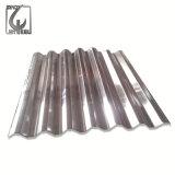 Dx51D Z40 Gi canelado de revestimento de folha de aço galvanizado Telha Quênia