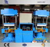 Pressa di vulcanizzazione del gemello superiore/macchina di vulcanizzazione del duplex con la struttura compatta