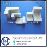 Génie de l'alumine en carreaux de céramique avec forme de L