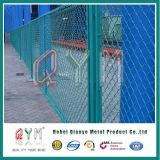 Clôture à mailles losangées pare-brise/ Clôture de maillon de chaîne pour le domaine du sport