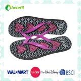 Slippers van vrouwen met PE Sole en pvc Straps, Bright Printing