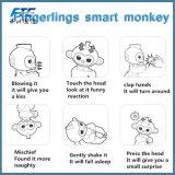 Младенец 6 Fingerlings цветов взаимодействующий Monkeys франтовская игрушка обезьяны перста