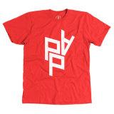 Custom Logo Printedの明白なCotton T-Shirt