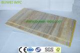 Tarjeta compuesta plástica impermeable de interior de la pared del material y de madera del PVC