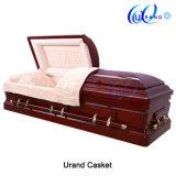 高い技能を持った葬儀の製品は木のビロードの棺および小箱を防水する