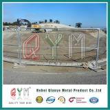 Загородка звена цепи конструкции панелей загородки уединения обеспеченностью временно временно