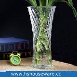 H 30cm de Purpere Vaas van het Glas van de Kleur