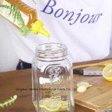 Kundenspezifischer neuer Entwurfs-Glasnahrungsmittelspeicher-Maurer-Flasche