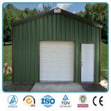 Garage en acier préfabriqué de couleur de construction