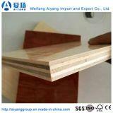 Papel de melamina de alta qualidade compensado de madeira estratificada