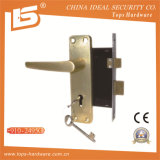 Alça de alumínio Iron Plate Mortise Lockset (910-2495)