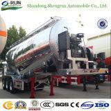 BulkAanhangwagen van het Cement van het Aluminium van Shengrun de Lichtgewicht40m3/de Droge Aanhangwagen van de Tank van het Cement van de Carrier van het Poeder Bulk